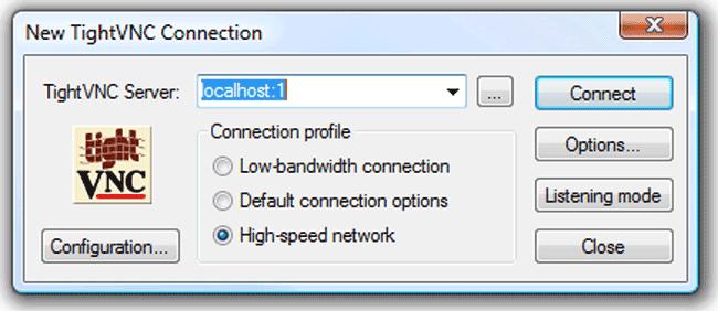 TightVNC over SSH on Slackware 13